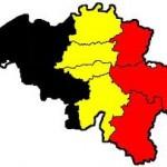 belgie-landkaart-gekleurd