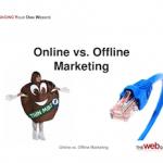 online marketing-offline marketing